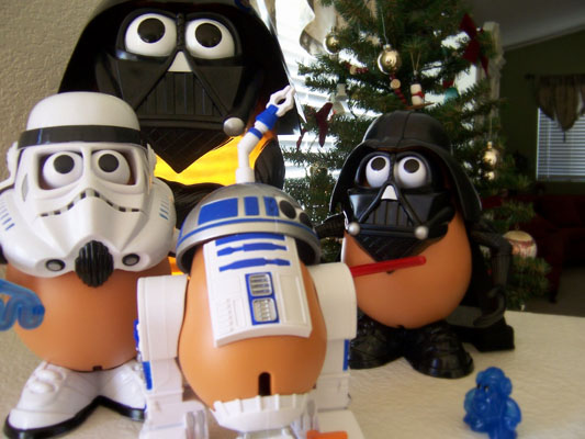 Darth-Tater and friends.